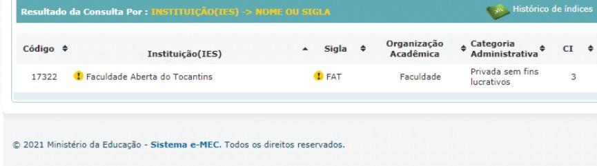 FAT Nota